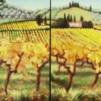 Vineyard Pas de Deux by Ann Rhodes