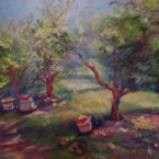 Apple Baskets II by Ann Rhodes