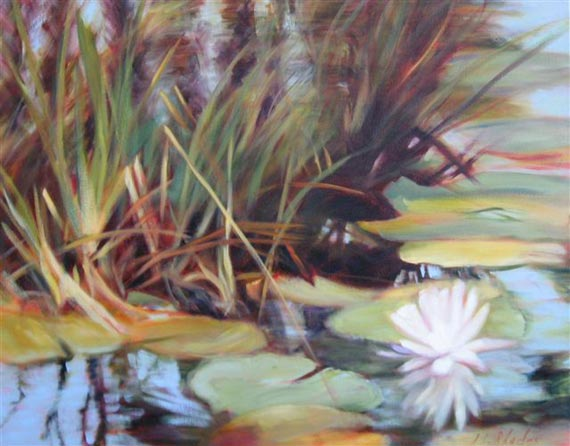 Lily of the Lake III by Ann Rhodes