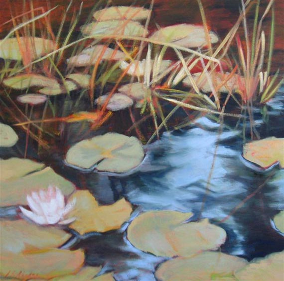 Lily of the Lake IV by Ann Rhodes