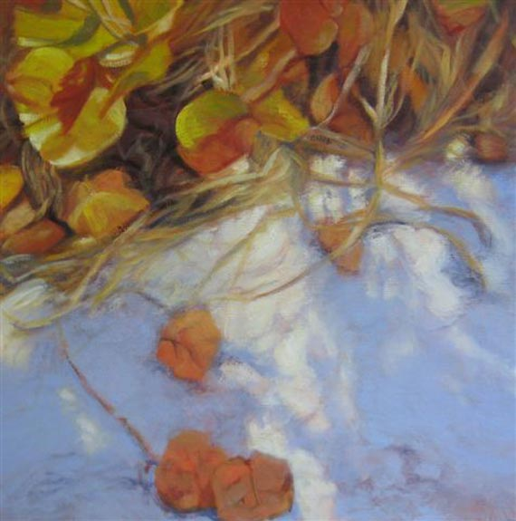 Seagrape Shadows VII by Ann Rhodes