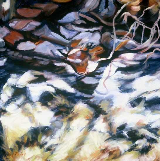 Seagrape Shadows (for Cornelia) by Ann Rhodes