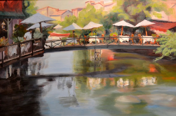 On the Sorgue River by Ann Rhodes