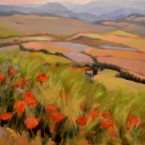 Valley Fields by Ann Rhodes