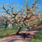 Orchard on the Hill, Ann Rhodes