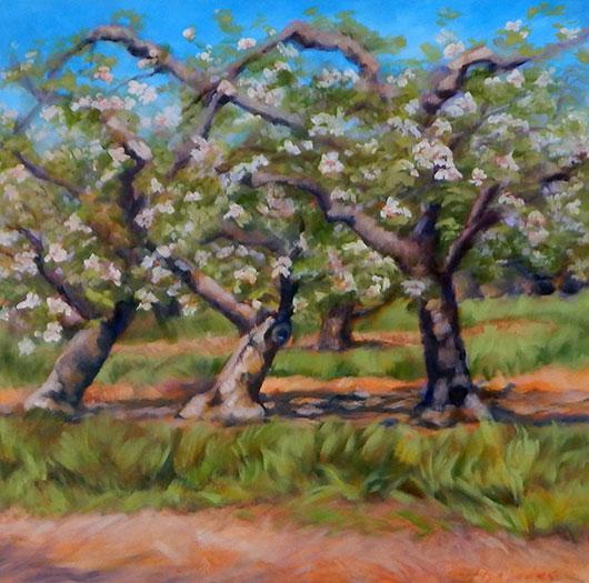 Three Graces, Fine Art by Ann Rhodes