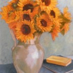 Jug of Sunflowers, Ann Rhodes